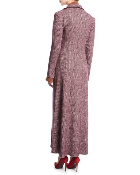 Carolyn Tweed Duster Coat