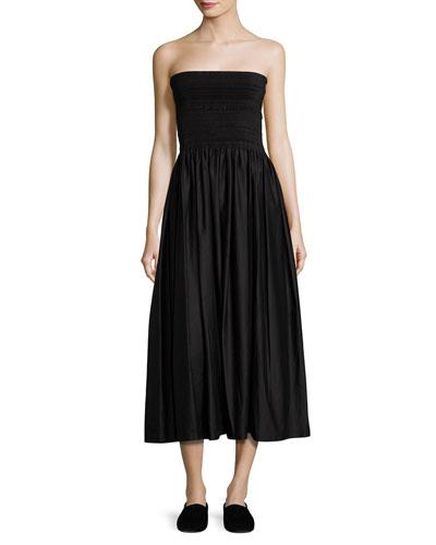 Cial Strapless Tea-Length Skirt/Dress