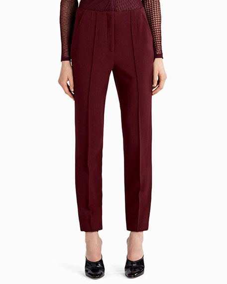 Jason Wu Crepe Straight-Leg Pants