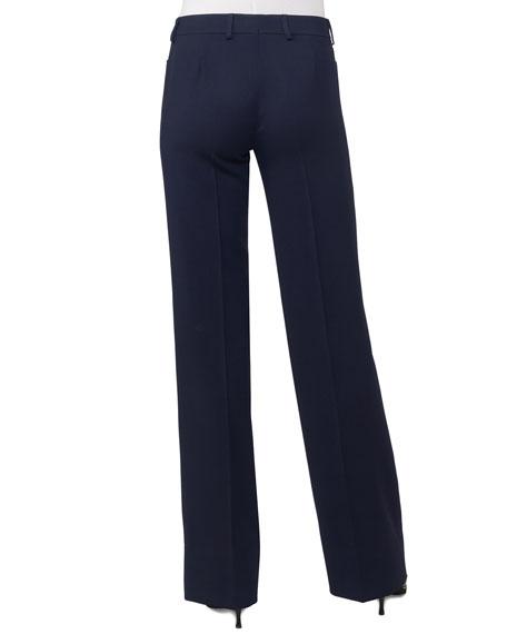 Marta Straight-Leg Pants