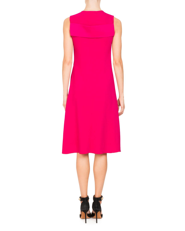 Givenchy Woman Color-block Crepe Mini Dress Orange Size 42 Givenchy mxOurvLwuN