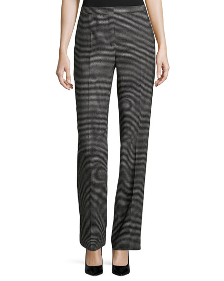 Escada Tamino Pixie-Print Trousers