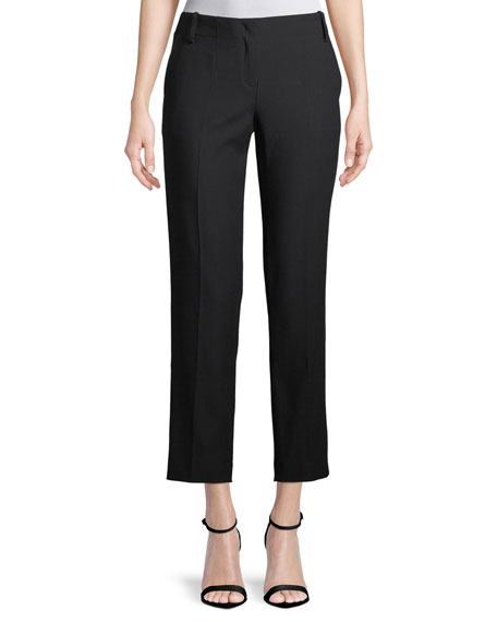 Escada Tabilo Straight-Leg Ankle-Pants
