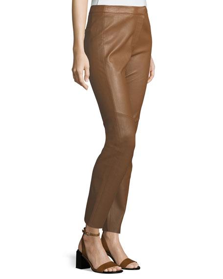 Lakera Leather Slim Pants
