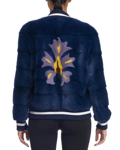 Mink Fur Bomber Jacket