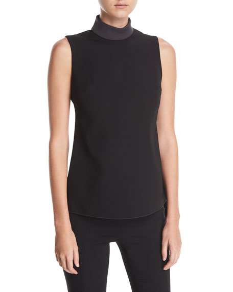Cushnie Et Ochs Carlotta Sleeveless Draped-Back Top