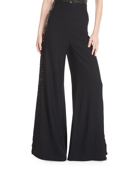 Dayna High-Waist Wide-Leg Pants