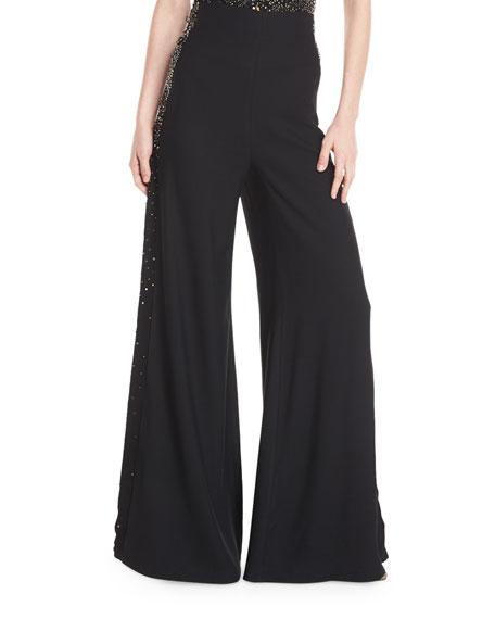 Dayna High-Waist Wide-Leg Pants