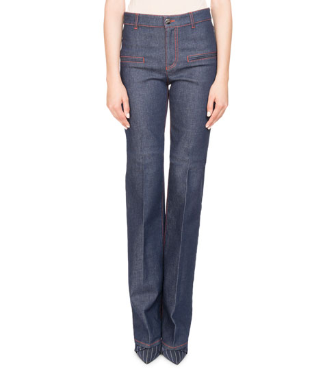 Serge Straight-Leg Denim Jeans