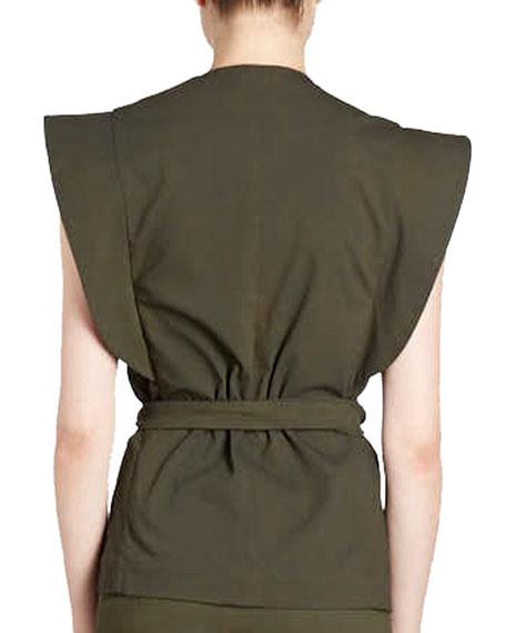 Logan Belted Wrap Vest