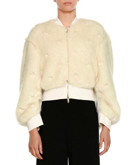 Stella McCartney Short-Sleeve Burnout Stars T-Shirt and Matching