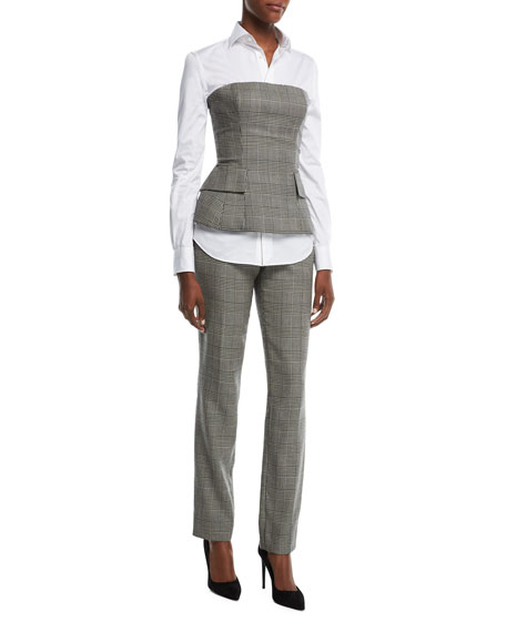 Simone Glen Plaid Suiting Pants