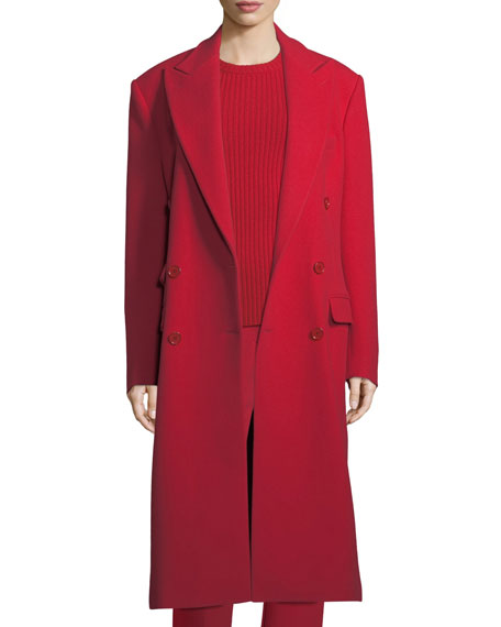 Ralph Lauren Collection Brandon Double-Breasted Wool Coat and