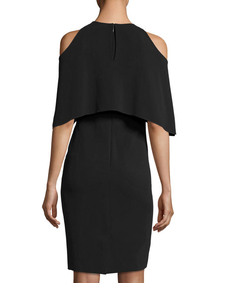 Ashley Cold-Shoulder Cocktail Dress