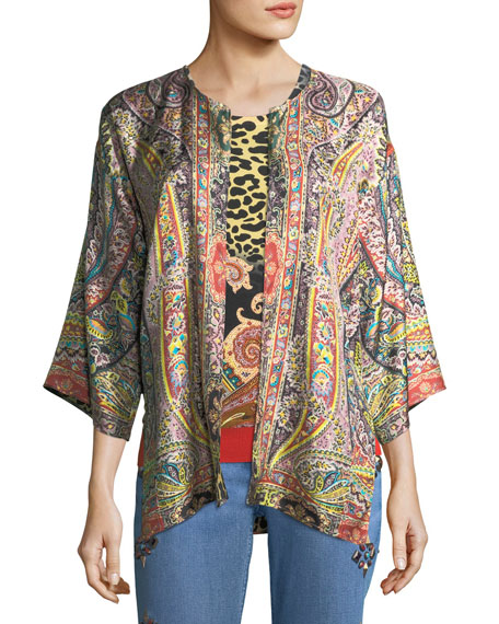 Etro Reversible Silk Jacket