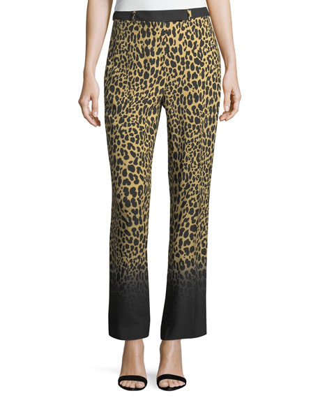 Etro Ombre Leopard-Print Pants and Matching Items