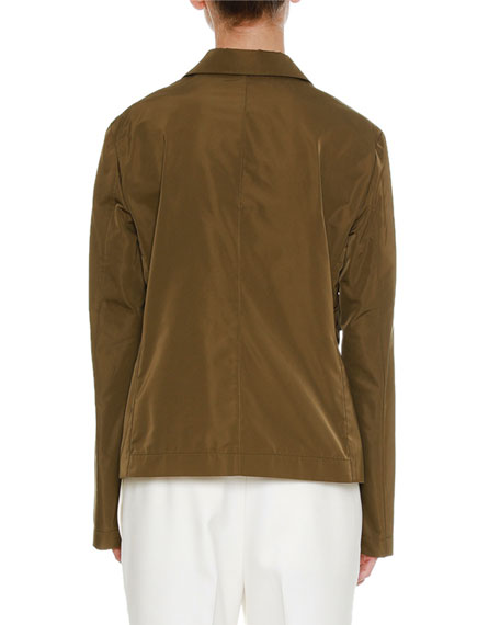 Long-Sleeve Two-Button Jacket