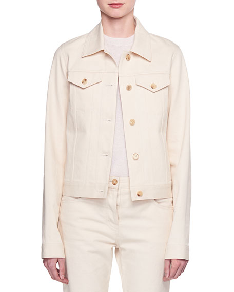 Rearman Button-Front Cotton-Twill Jacket