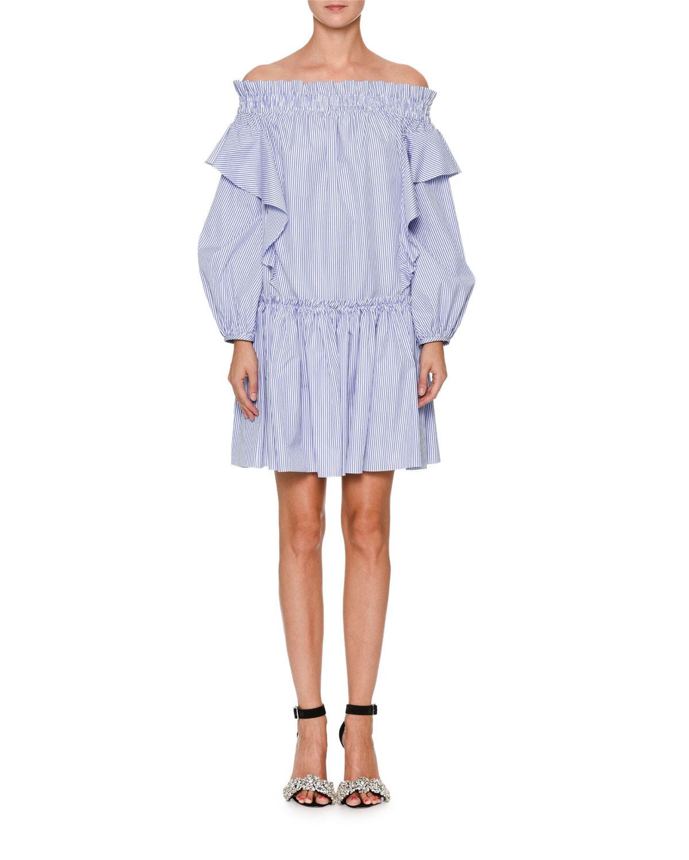 Ruffled Tunic Dress