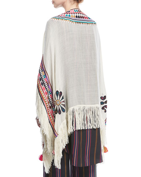 Katrine Wool Twill with Tassels