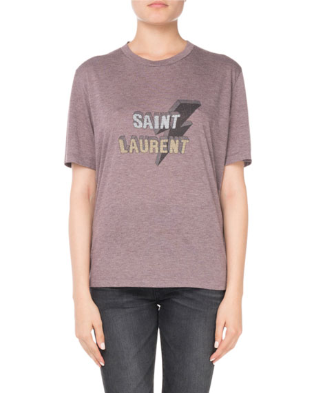 Saint Laurent High-Waist Skinny-Leg Jeans and Matching Items