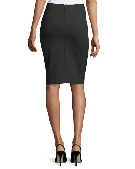 Slim Pencil Skirt