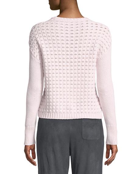 Knit Cashmere Crewneck Sweater
