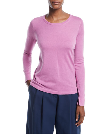 Loro Piana Piuma Crewneck Cashmere Sweater