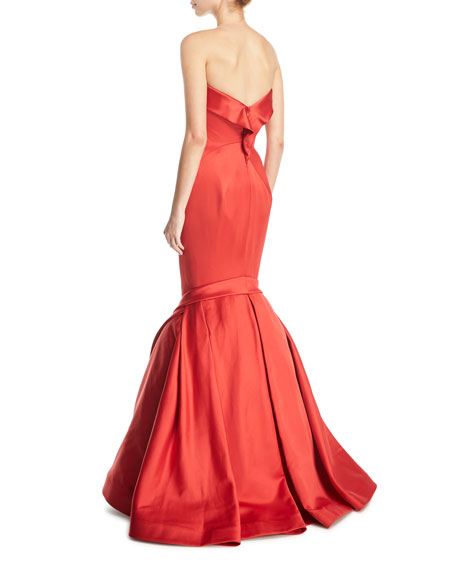 Sweetheart Trumpet Duchess Evening Gown