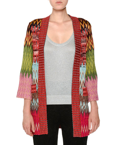 Missoni Scoop-Neck Lurex® Knit Tank Top and Matching