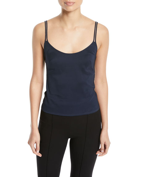Scoop-Neck Double-Strap Camisole
