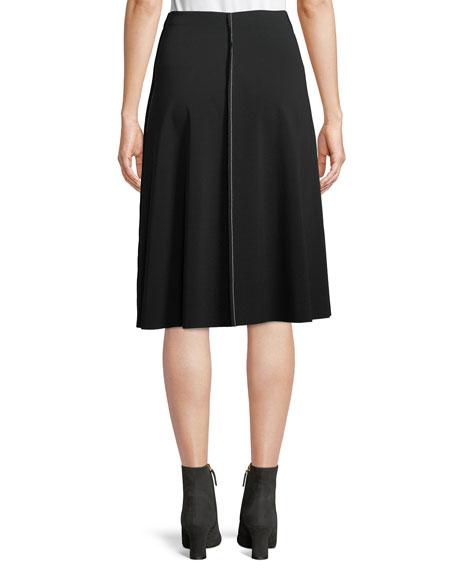 Laeha A-Line Skirt w/ Topstitching