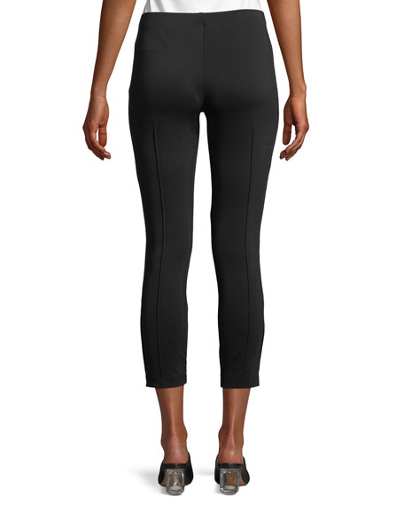 Andir Cropped Stretch-Knit Pants