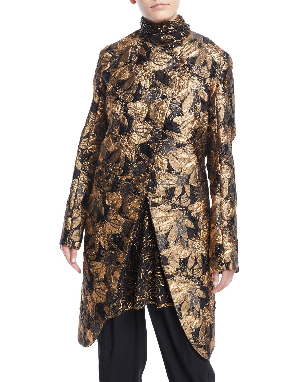 b0f03a06034 Womens Jacquard Coat