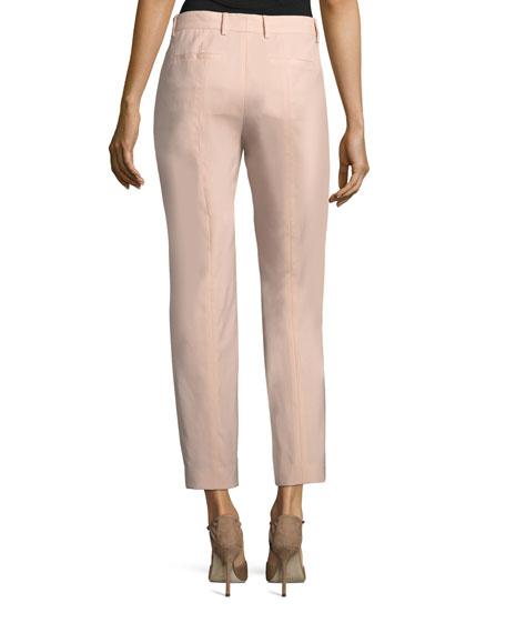 Thompson Straight-Leg Wool Pants