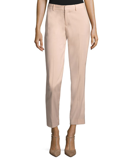 Ralph Lauren Collection Thompson Straight-Leg Wool Pants