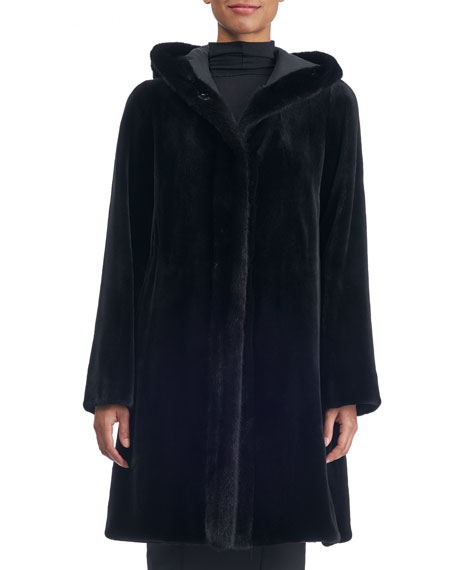 Reversible Sheared Mink Coat
