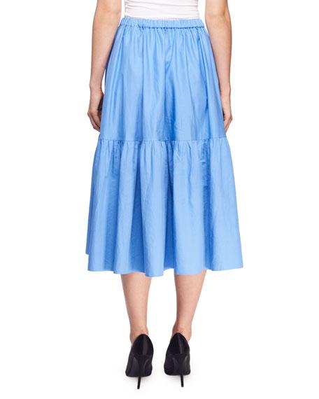 Tanya Midi Pull-On Table Skirt