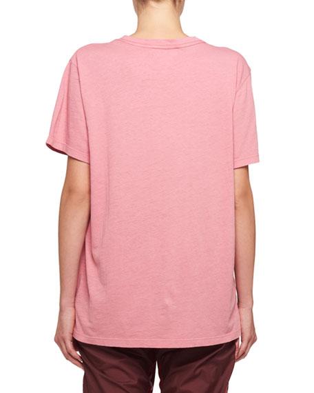 Zaffer Short-Sleeve Californian Decal Cotton T-Shirt