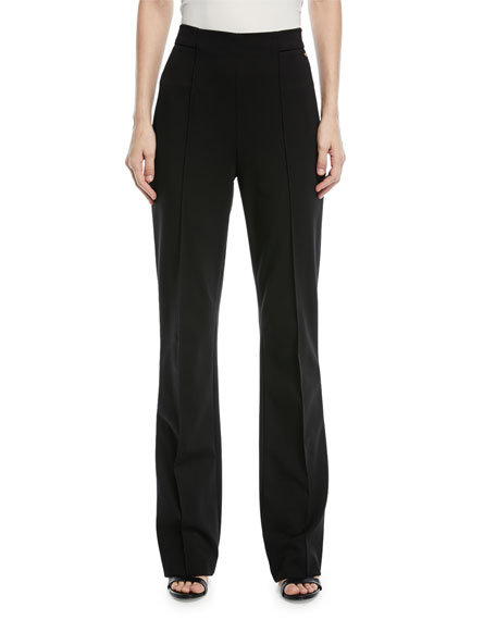 Talisana High-Waist Boot-cut Jersey Pants