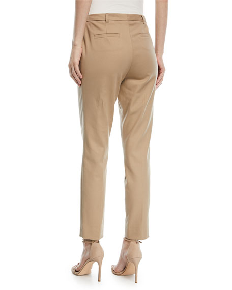 Talas Cotton-Twill Ankle Pants