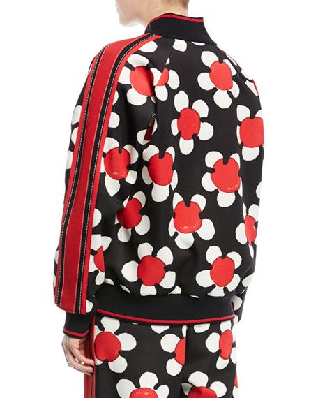 Daisy Zip-Front Track Jacket