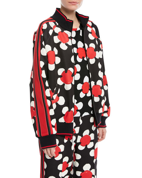Marc Jacobs Daisy Zip-Front Track Jacket and Matching
