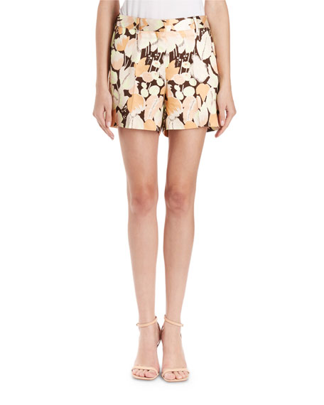 Dries Van Noten Pulley Tulip Twill Shorts
