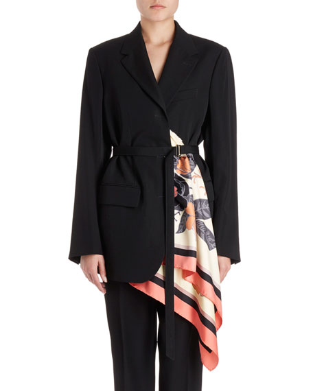 Dries Van Noten Bacchu Jacket Blazer w/ Attached