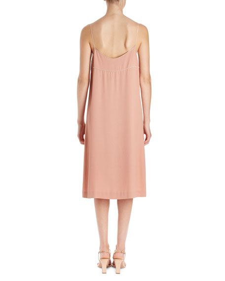 Dulci Strauss Cami Slip-Frame Dress