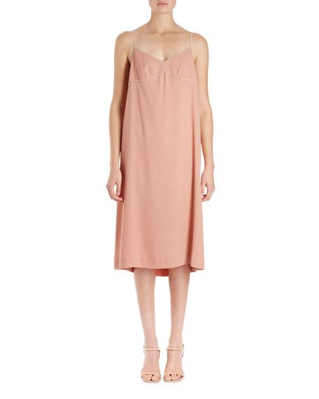 Dulci Strauss Cami Slip-Frame Dress