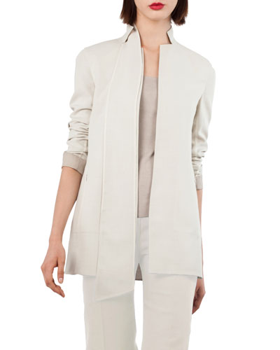 ReverNotch-Collar Wool-Blend Jacket