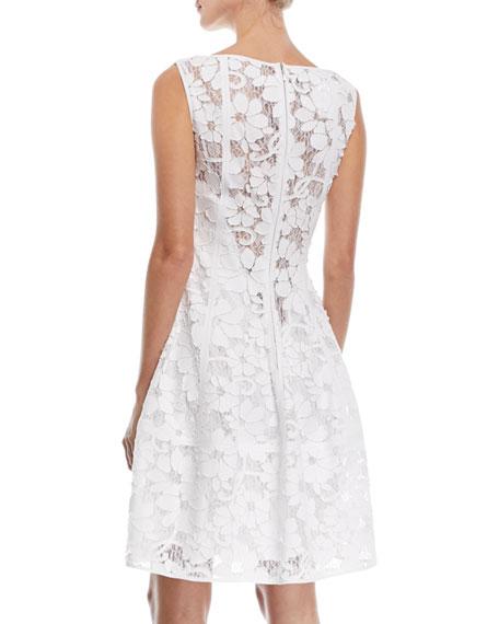 Golo Floral Lace Cocktail Dress