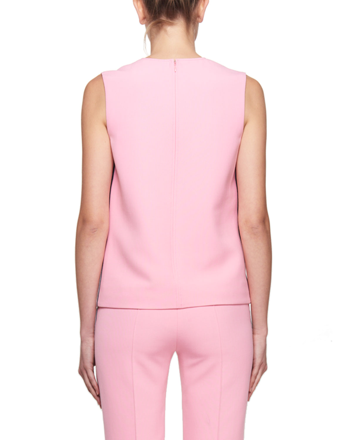 719ad93a8149f6 Victoria Victoria Beckham Round-Neck Sleeveless Crepe Top and Matching Items  & Matching Items   Neiman Marcus